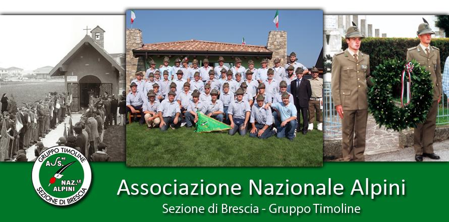 Associazione Nazionale Alpini - Sezione di Brescia - Gruppo Timoline