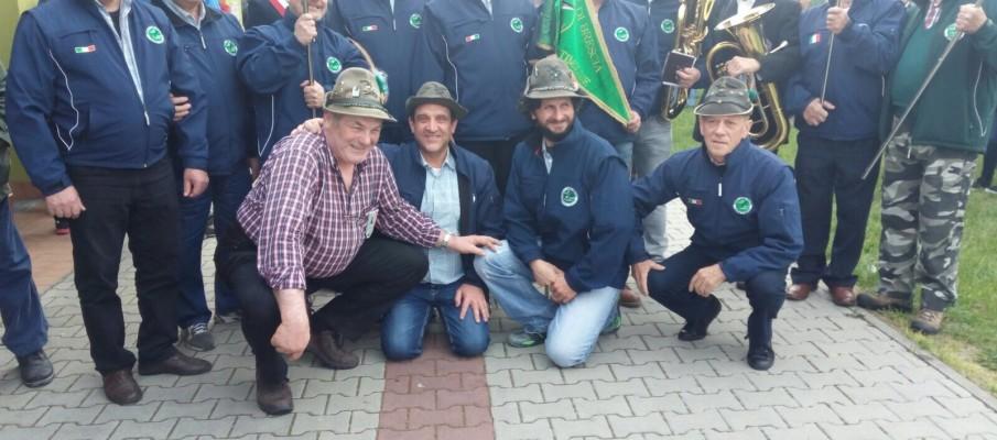 """Gemellaggio con il Gruppo Alpini """"Terre del Po"""" Busseto"""