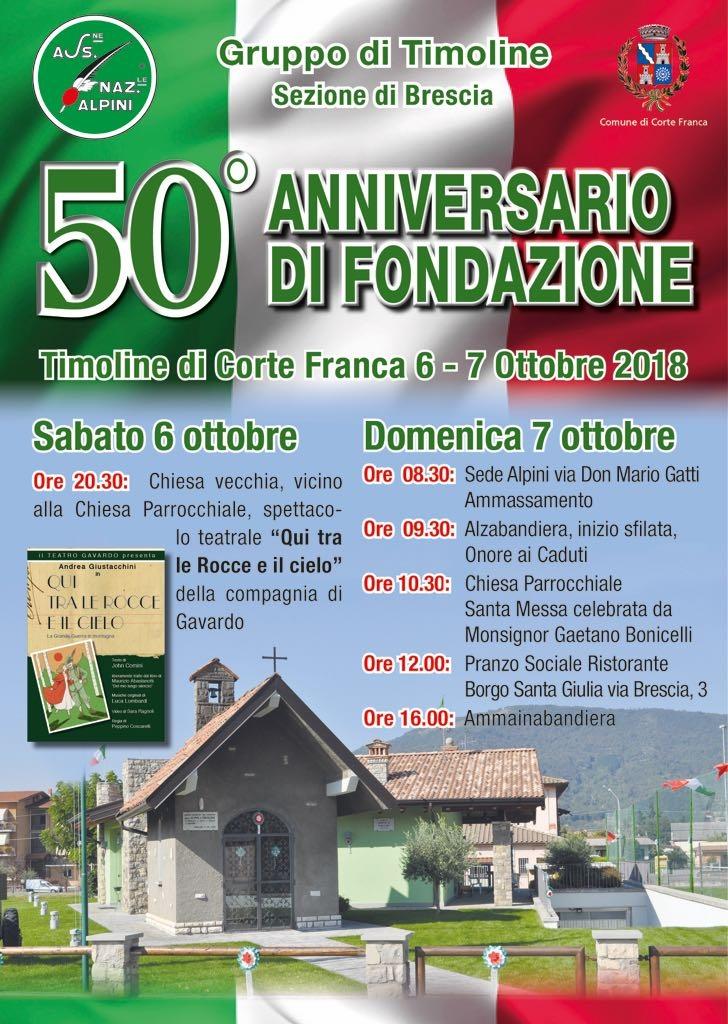 50 anniversario del Gruppo